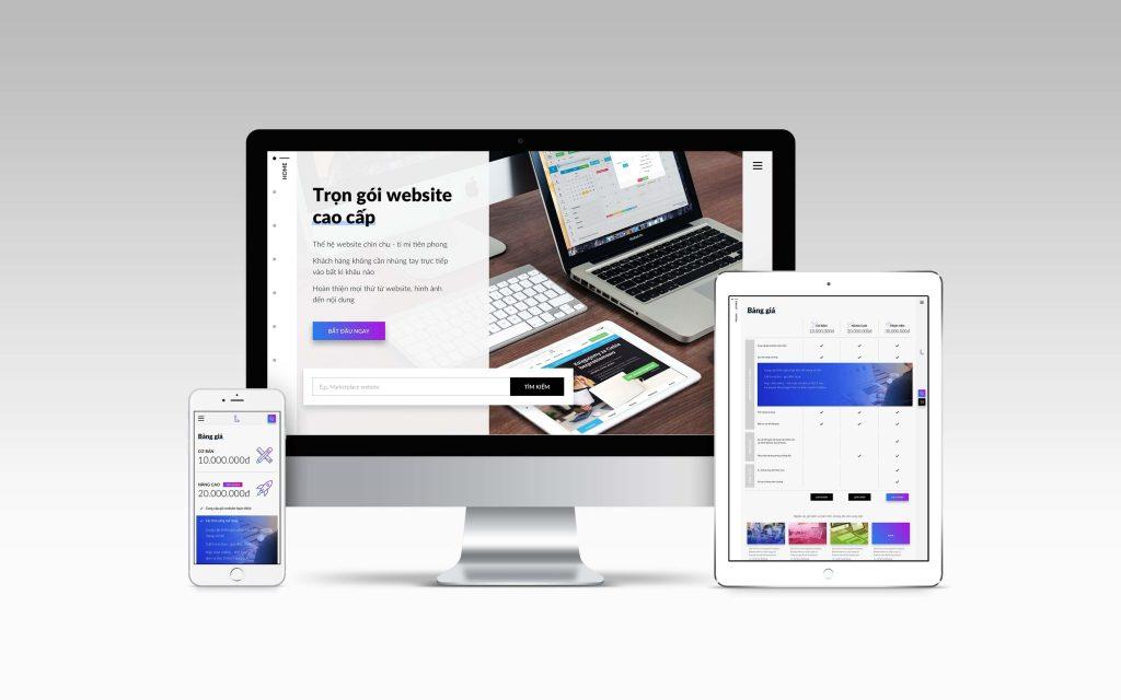 dịch vụ thiết kế web Letweb
