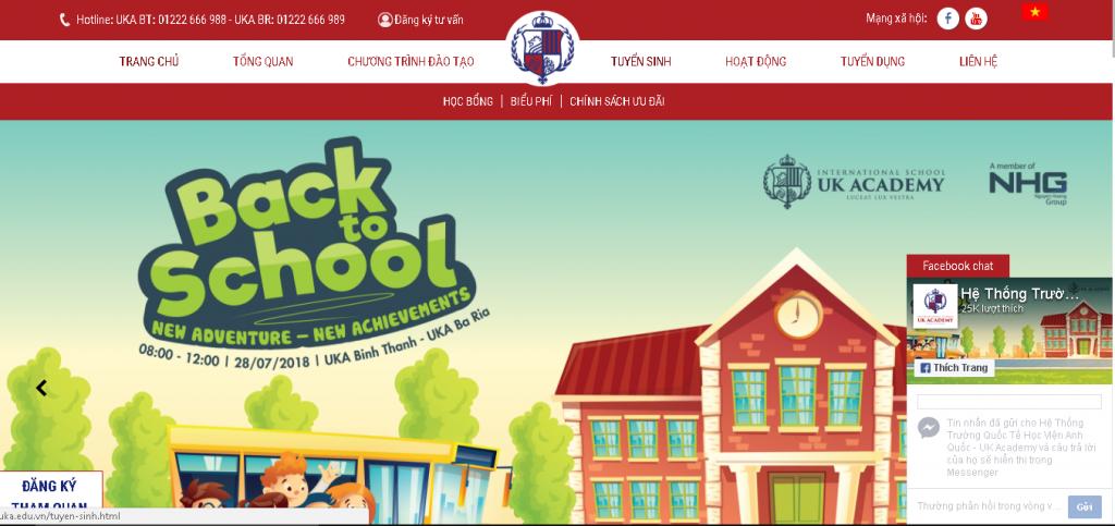 website UK Academy