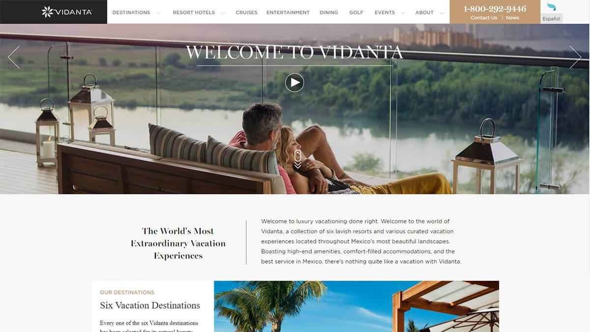 Xu hướng thiết kế web du lịch năm 2020