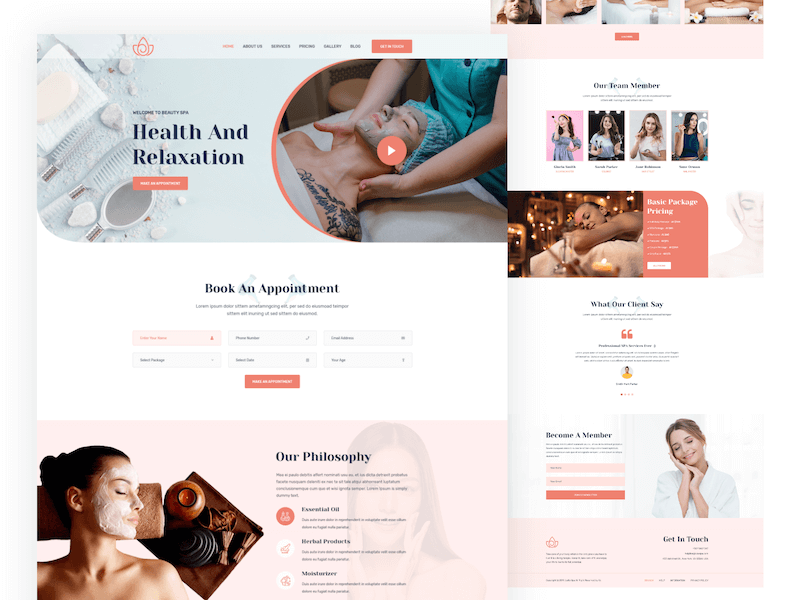Bí quyết tạo nên thiết kế website thẩm mỹ viện bắt mắt