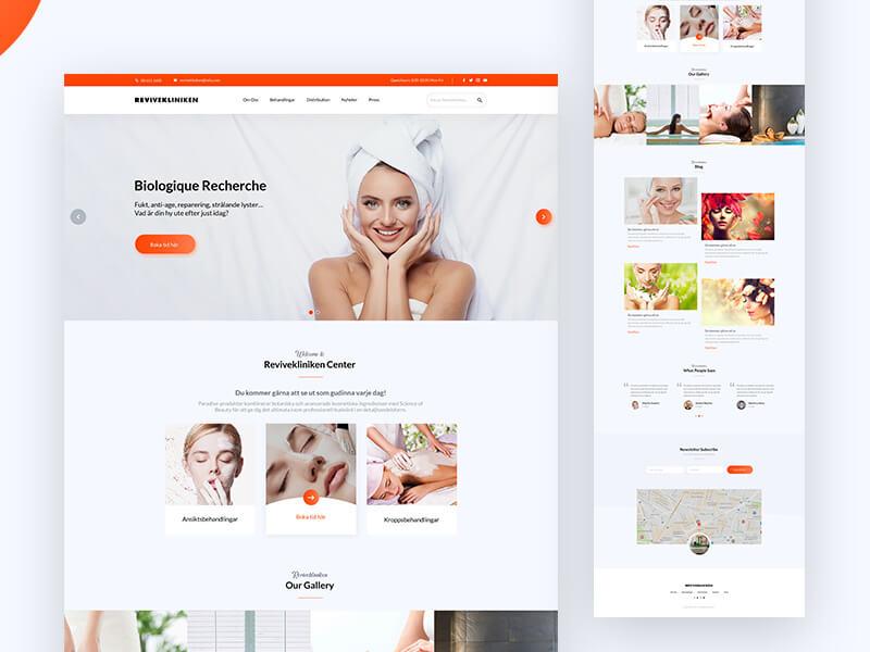 Nhiều thiết kế website thẩm mỹ viện và thiết kế website spa chỉ đẹp hoàn hảo khi xem trên giao diện PC