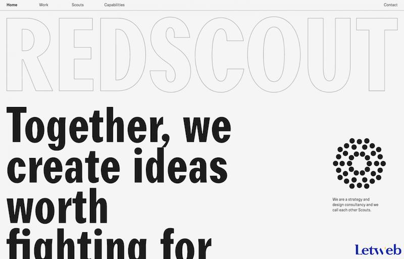 Kiểu chữ phác thảo là một ý tưởng mới để thể hiện website của bạn trong năm 2020