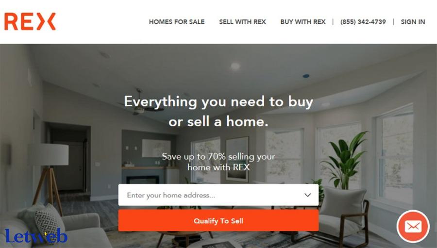 Rex Homes là một website bất động sản cao cấp mà doanh nghiệp có thể tham khảo